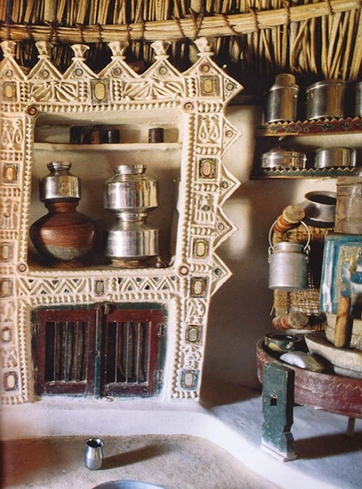 Inside an Indian home