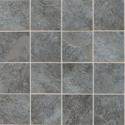 Continental Slate English Grey Cs57 3x3 Porcelain Mosaic Tile Which Grout Color Would You Match With This Tile Texturas Textura Pisos