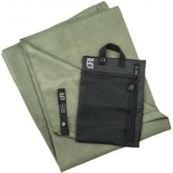GearAid Microfiber Towel Handtuch 90 x 155 cm moosgrün