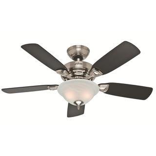 Hunter Fan 52081 Caraway Burnt Walnut Ceiling Fan