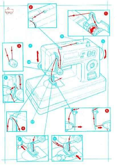 singer lockstitch 2000 instruction manual
