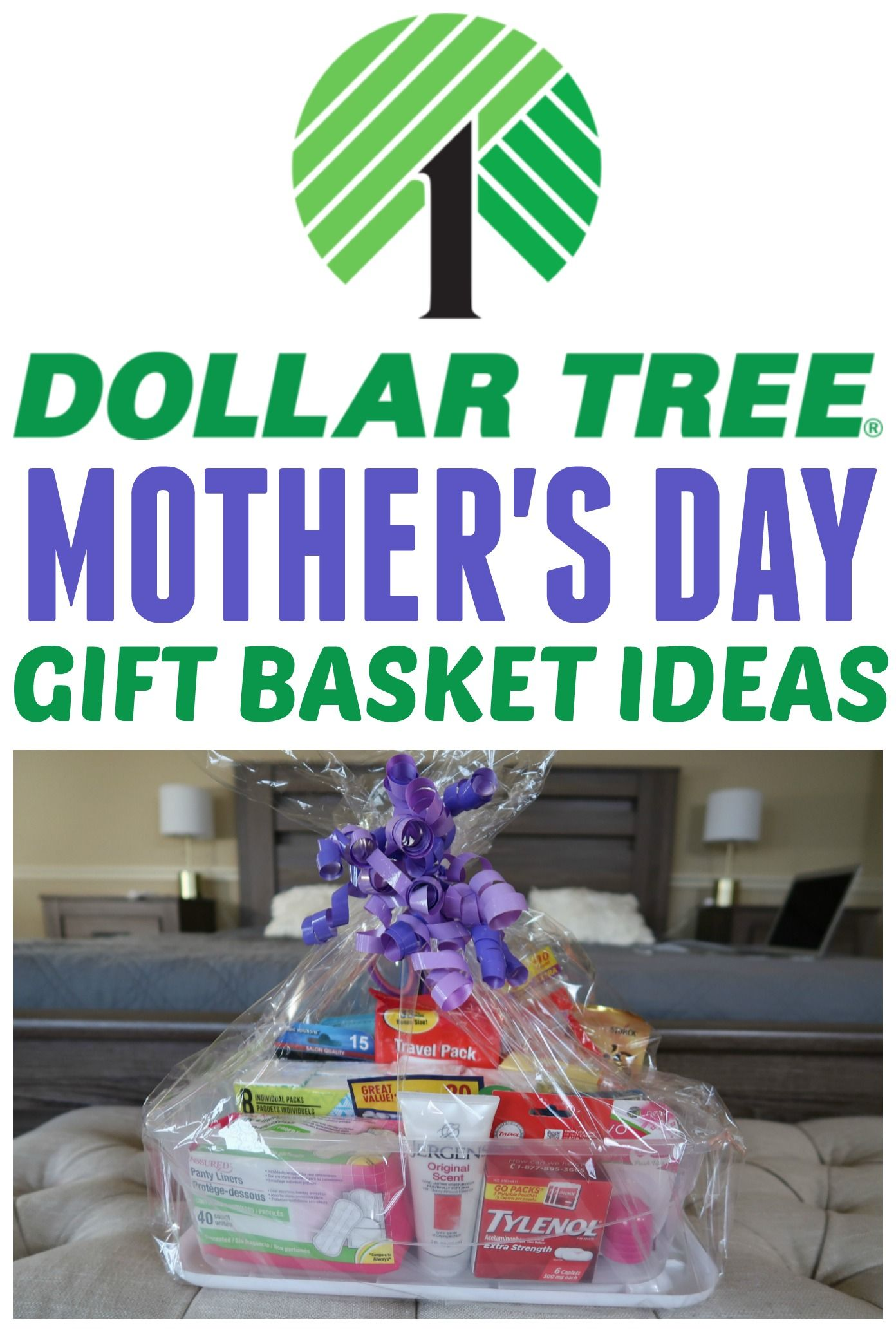Need A Mother S Day Gift Idea Check Out Our Dollar Tree Gift Basket