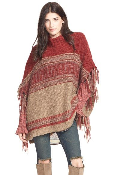 d8c07af889b For the Love of Fancy - A Houston based style blog Knitted Poncho, Crochet  Poncho