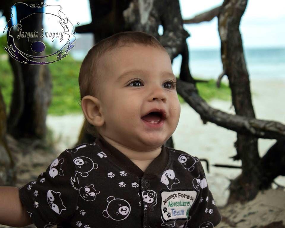 Hawaii beach infant boy. www.facebook.com/Jarquinimagery