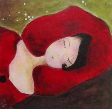 Chaperon rouge 2010... Acrylique sur carton entoilé ...monnatelier.blogspot.com