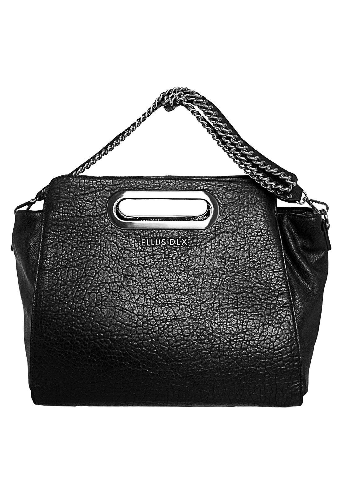 7e80f9141 Bolsa Ellus Tote Bag Preta - Compre Agora | Dafiti Brasil