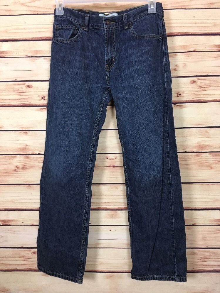 107ceb46395 Levi's 505 Jeans Boys Size 18 Reg Blue Straight Leg 29 x 29 #Levis  #ClassicStraightLeg #Everyday