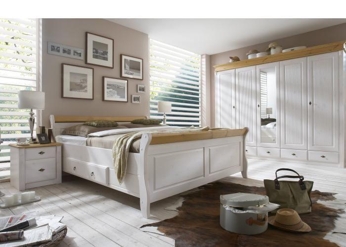 Schlafzimmer komplett massiv...Wie romantisch ...