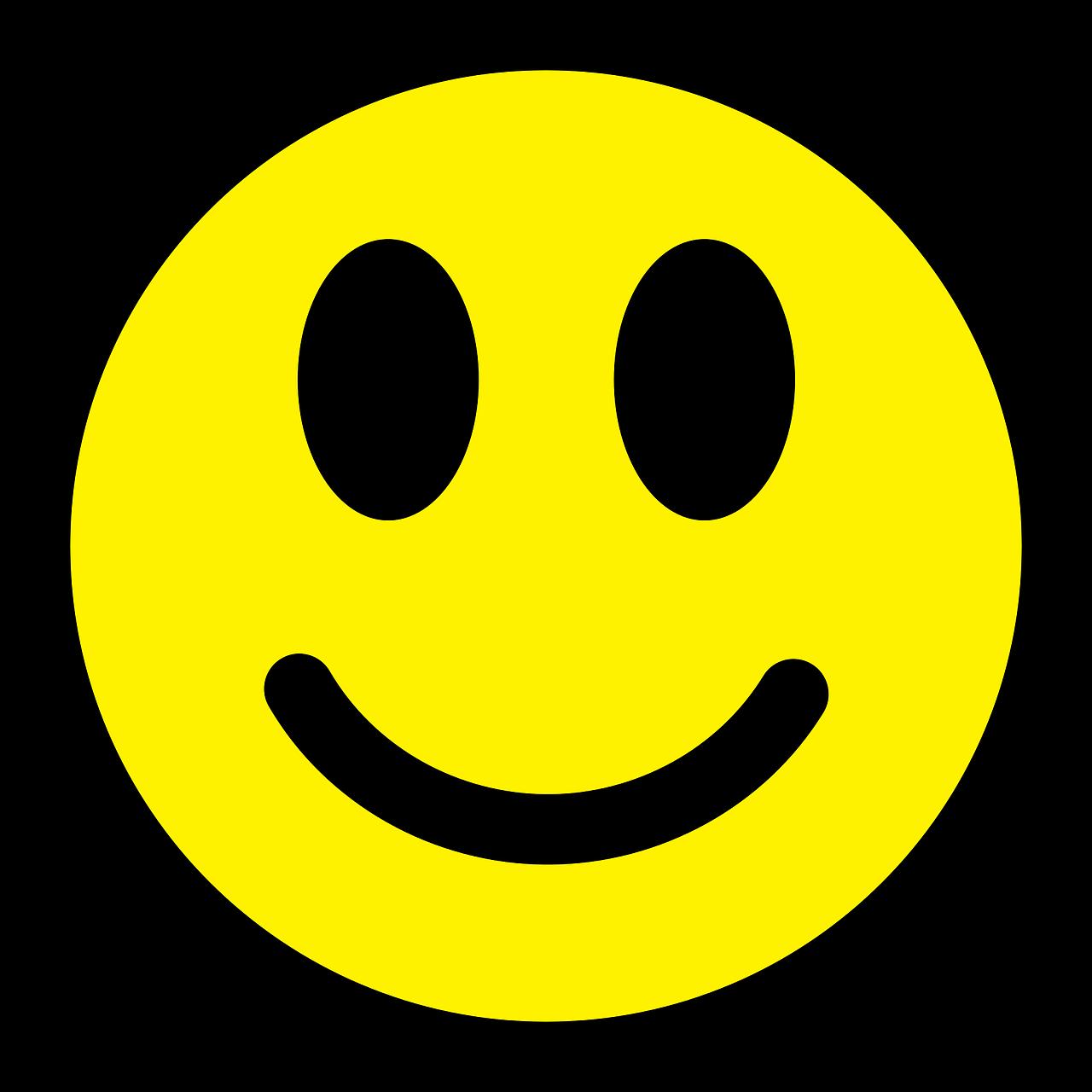 Gratis billede på Pixabay Smiley, Humørikon, Glad