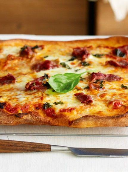 Αποτέλεσμα εικόνας για california-style pizza