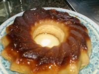 Receita Sobremesa : Pudim de pão no microondas de Liliana