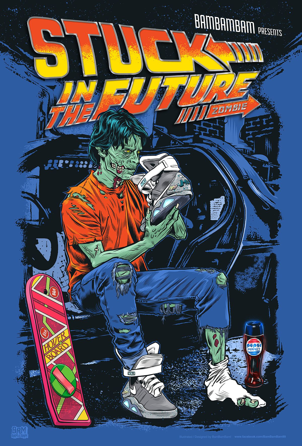 Stuck in the Future by Bam! Bam! Bam! | Art  Everything I