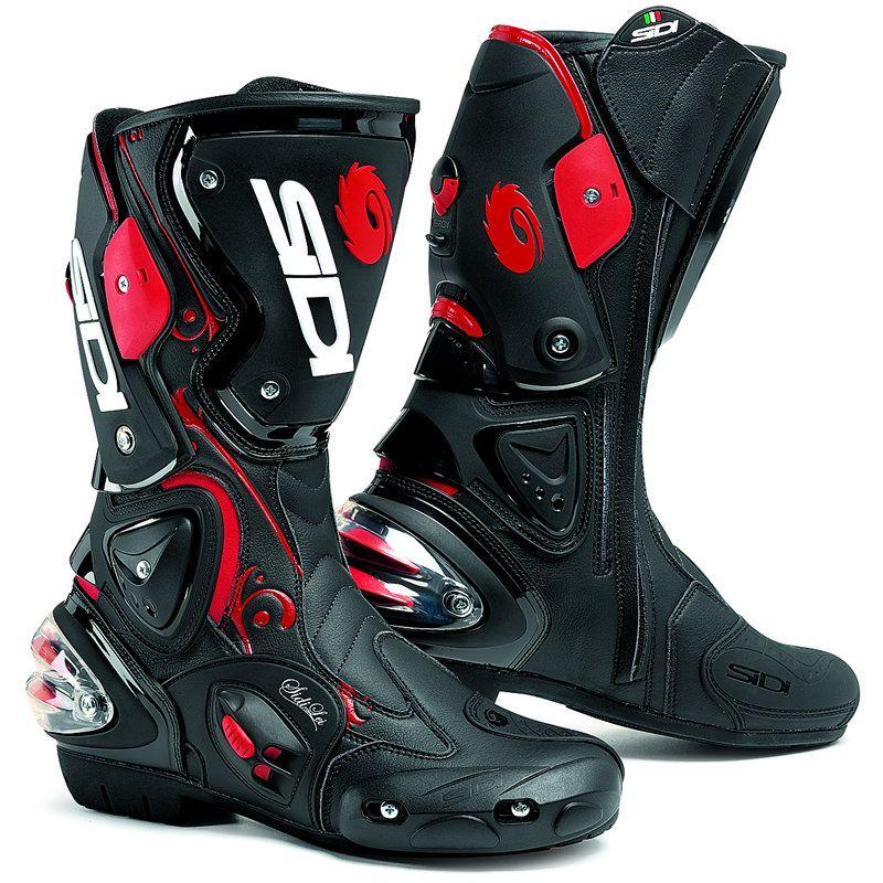 Sidi Vertigo Lei Ladies Motorcycle Boots  Description: The Sidi Vertigo Lei Wome…