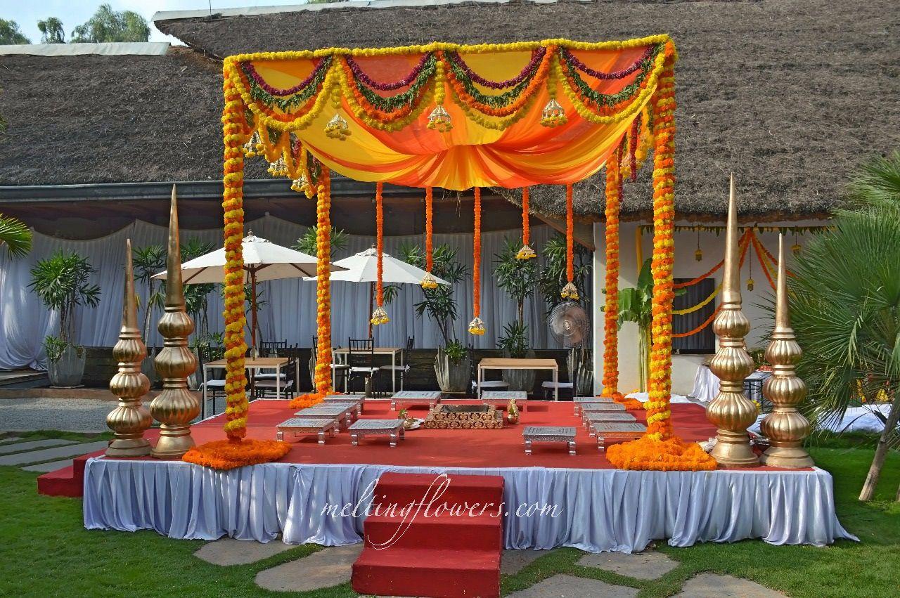 Trending Styles To Decorate Outdoor Weddings And Events Outdoor Indian Wedding Hindu Wedding Decorations Indian Wedding Decorations