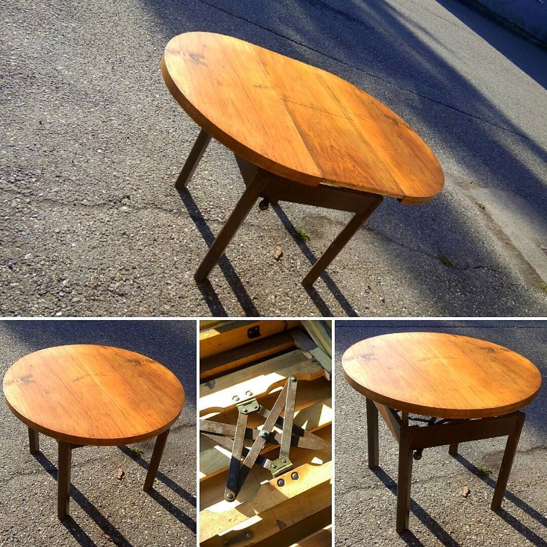 variationen auf einen tisch klein aber fein rundertisch roundtable h henverstellbar. Black Bedroom Furniture Sets. Home Design Ideas