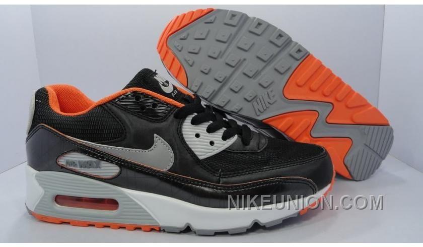 http   www.nikeunion.com nike-air-max-90-black-orange-silver-new ... 0a3d7ee2f9701
