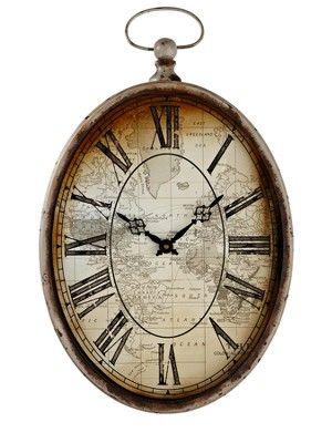 Laurence Llewelyn Bowen Phileas Clock Http Www Littlewoodsireland Ie Laurence Llewelyn Bowen Phileas Clock 114932 Clock Clock Design Contemporary Wall Clock