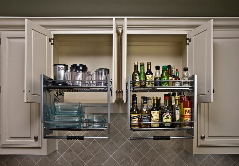 M Bath Shelf Genie Premiere Pull Down Shelving To Make High Cab