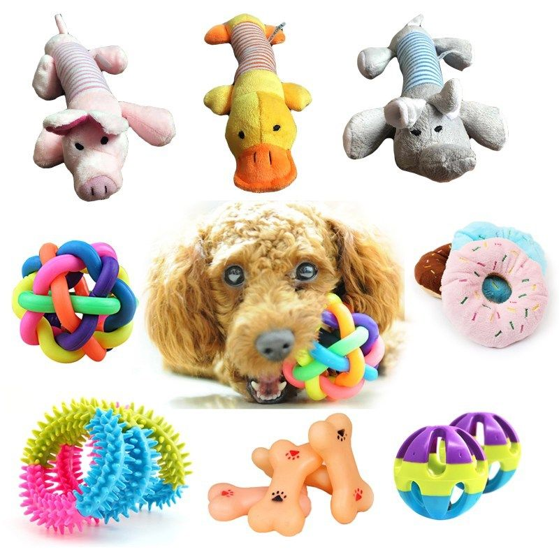 Dog Toys For Small Dog Squeak Toys For Teeth Training Pet 1 Pcs