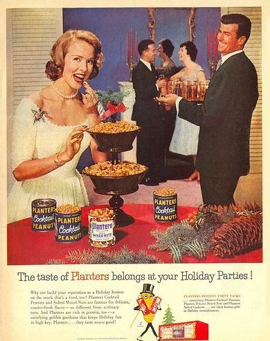 Christmas Planters Peanuts.Planters Peanuts You D Think It Was A Champagne Tower They