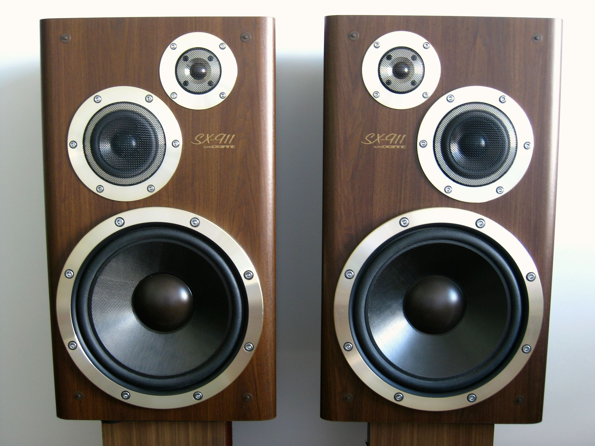 JVC SX 911 Hifi Speakers Monitor Bookshelf Audio