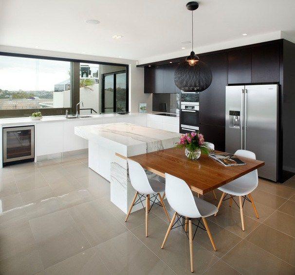 Wohnküche Kücheninsel: Modern Kitchen Art Kitchens Pty Bulleen Modern Kitchen