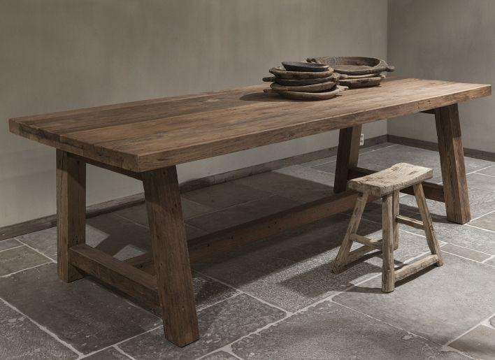 Oud houten eettafel megan farm tables tables