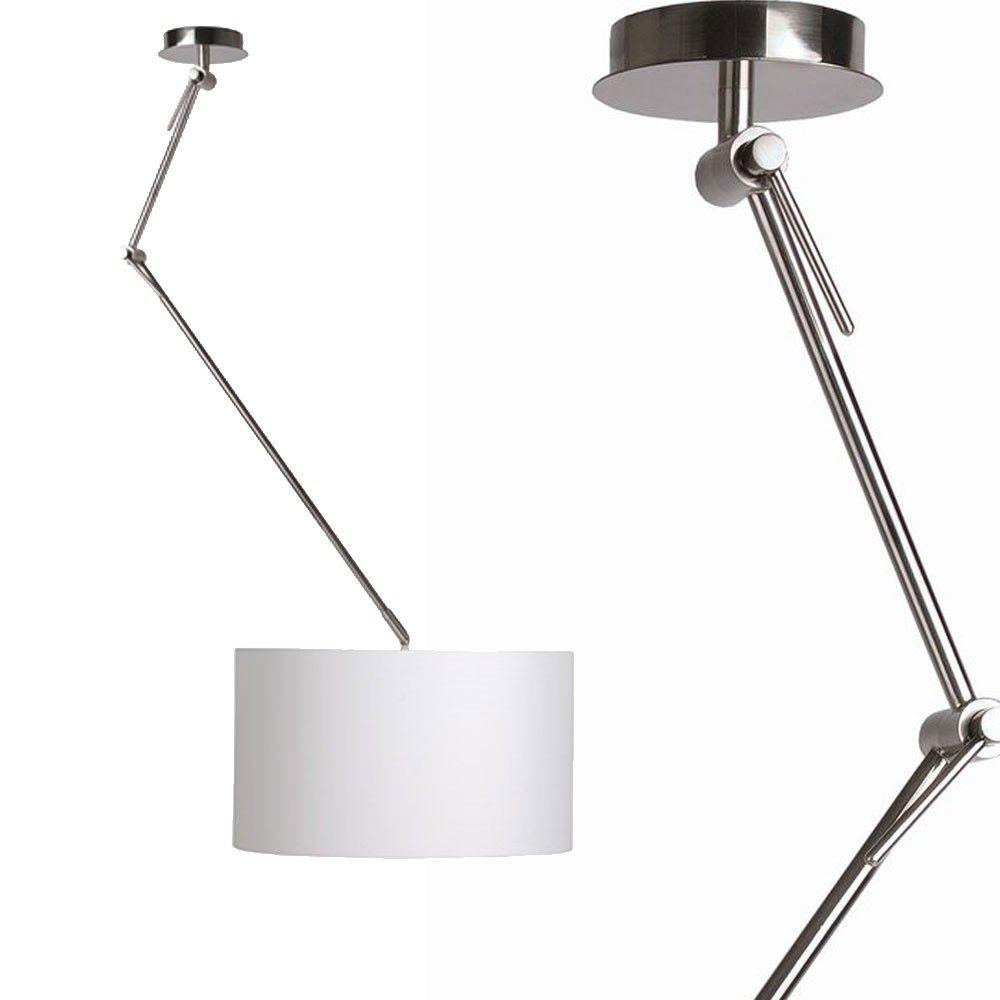 Licht Skapetze skapetze braccio deckenleuchte verstellbar mit schirm alu matt
