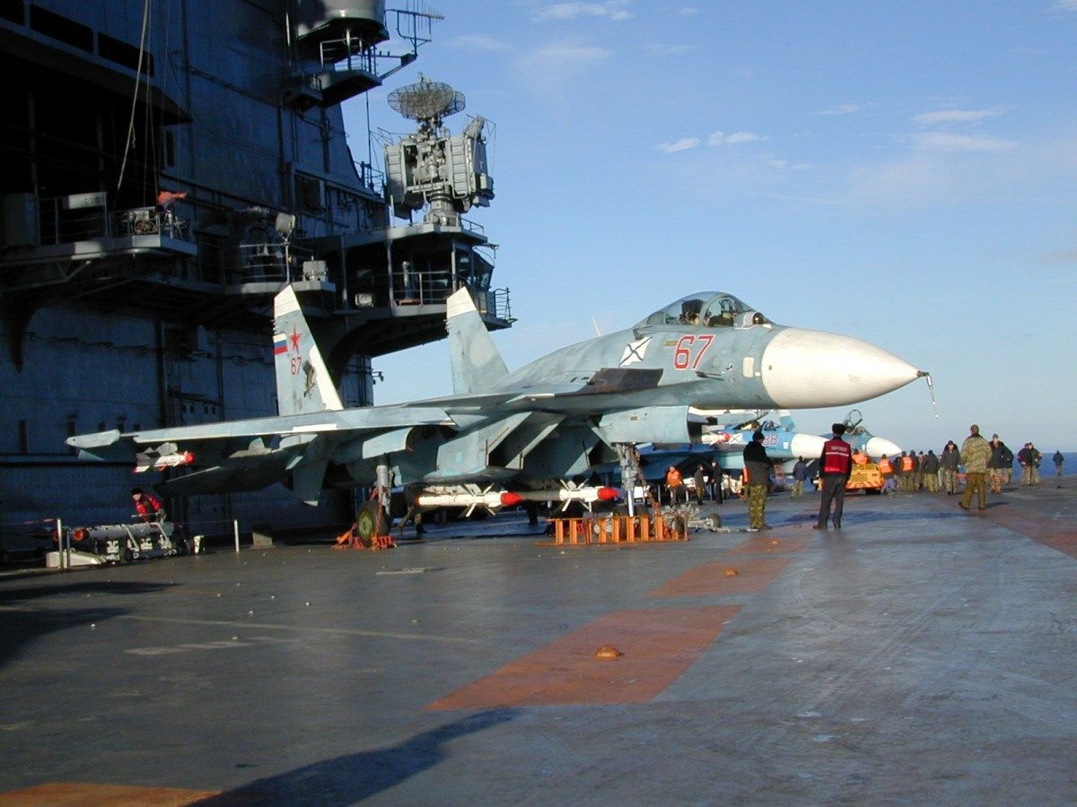 Loading su 33 flanker d carrier based fighter jet su 27 - Aircraft Armed Su 33 Sea Flanker D