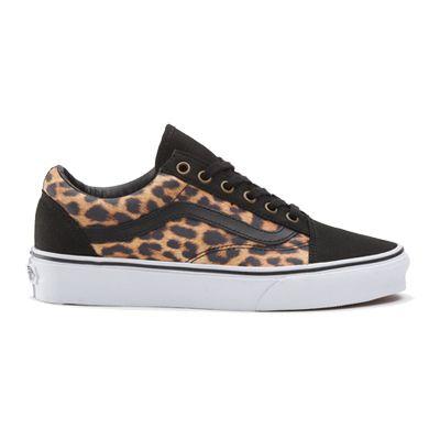 Vans Old Skool Leopard | Vans shoes women, Women shoes ...