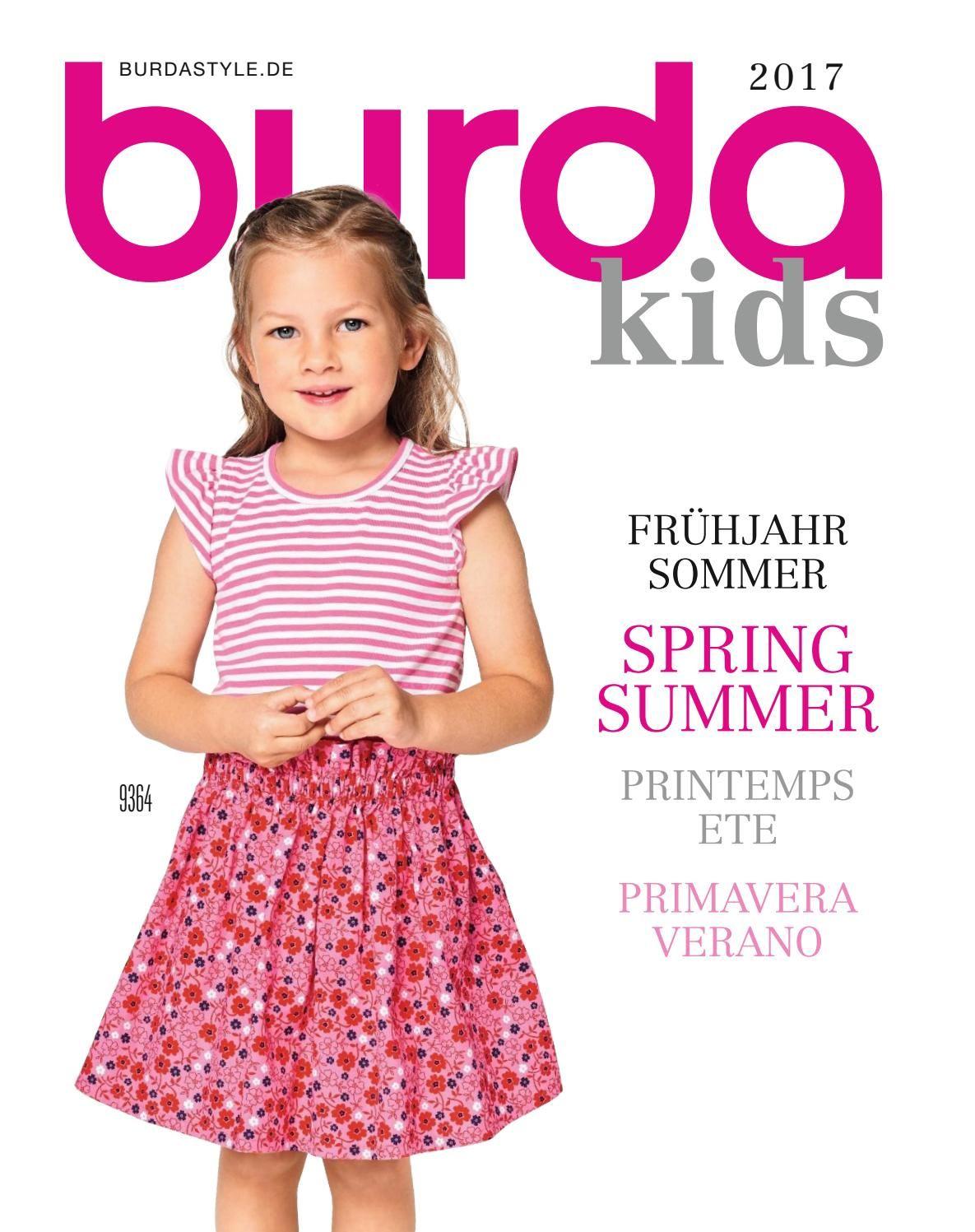 Burda - Kids 2017   Modezeitschriften, Babys und Kind