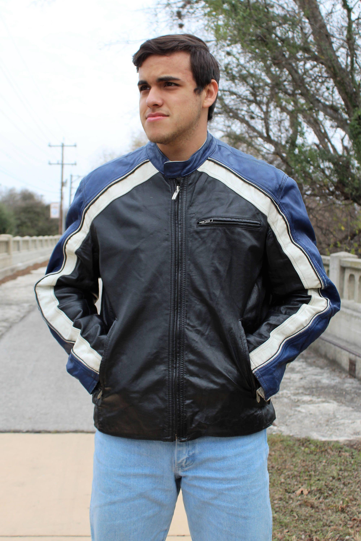 ef8b70268052 Cafe racer motorcycle jacket for men: Cafe Racer Jacket for Men | Vintage  Wilsons Leather
