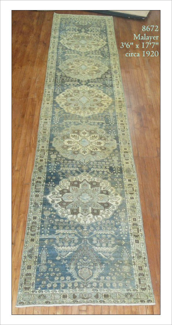 Malayer Rug Number 8672 Size 3 6 X 17 7