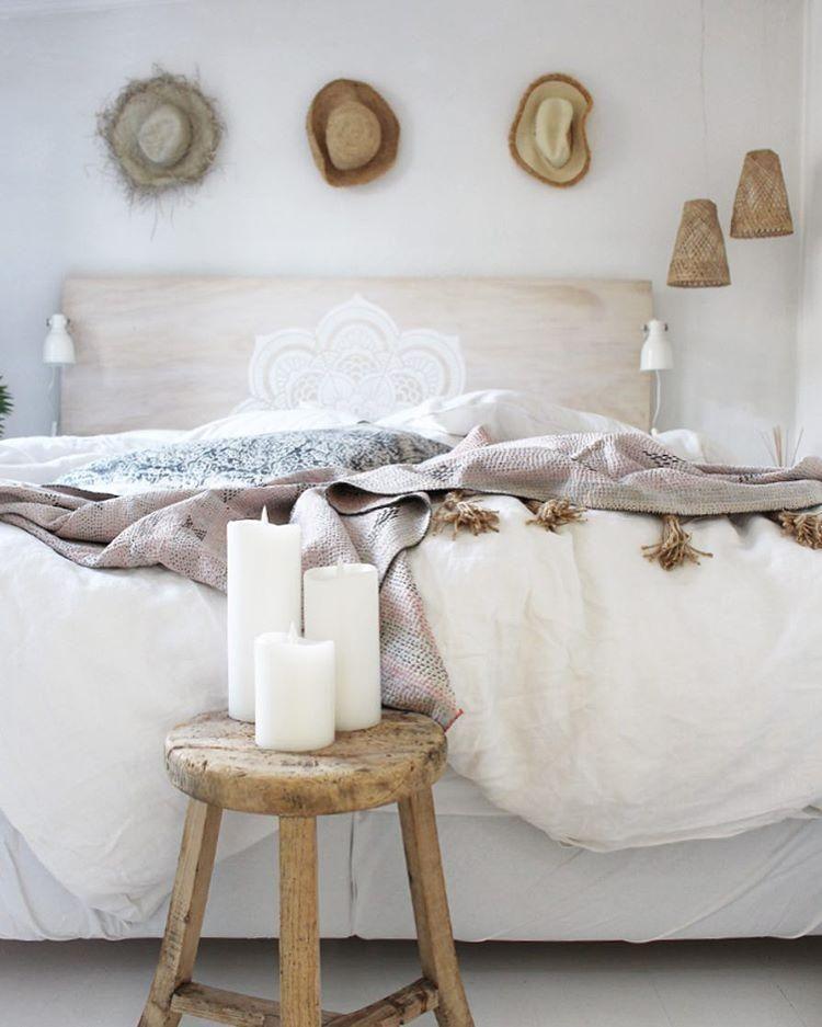 Boho Schlafzimmer! Boho Steht Für Ein Mix Aus Verschiedenen Stoffen Und  Materialien, Besonders Oft