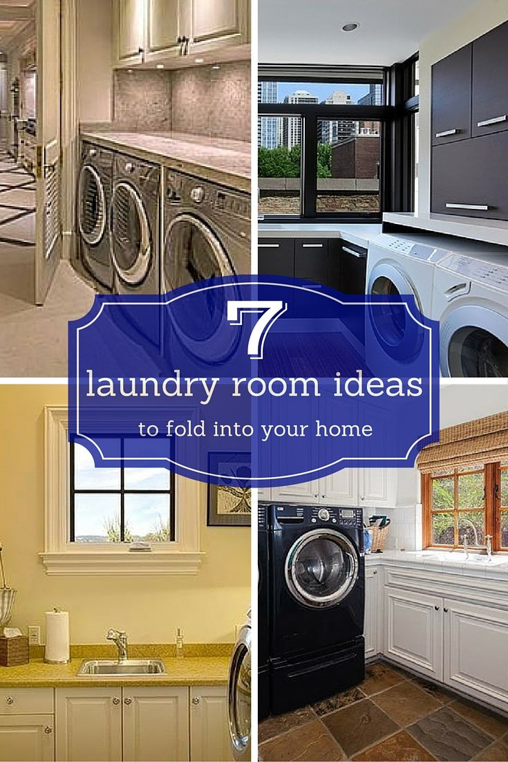 7 Laundry Room Ideas To Fold Into Your Home Laundry Room Blue