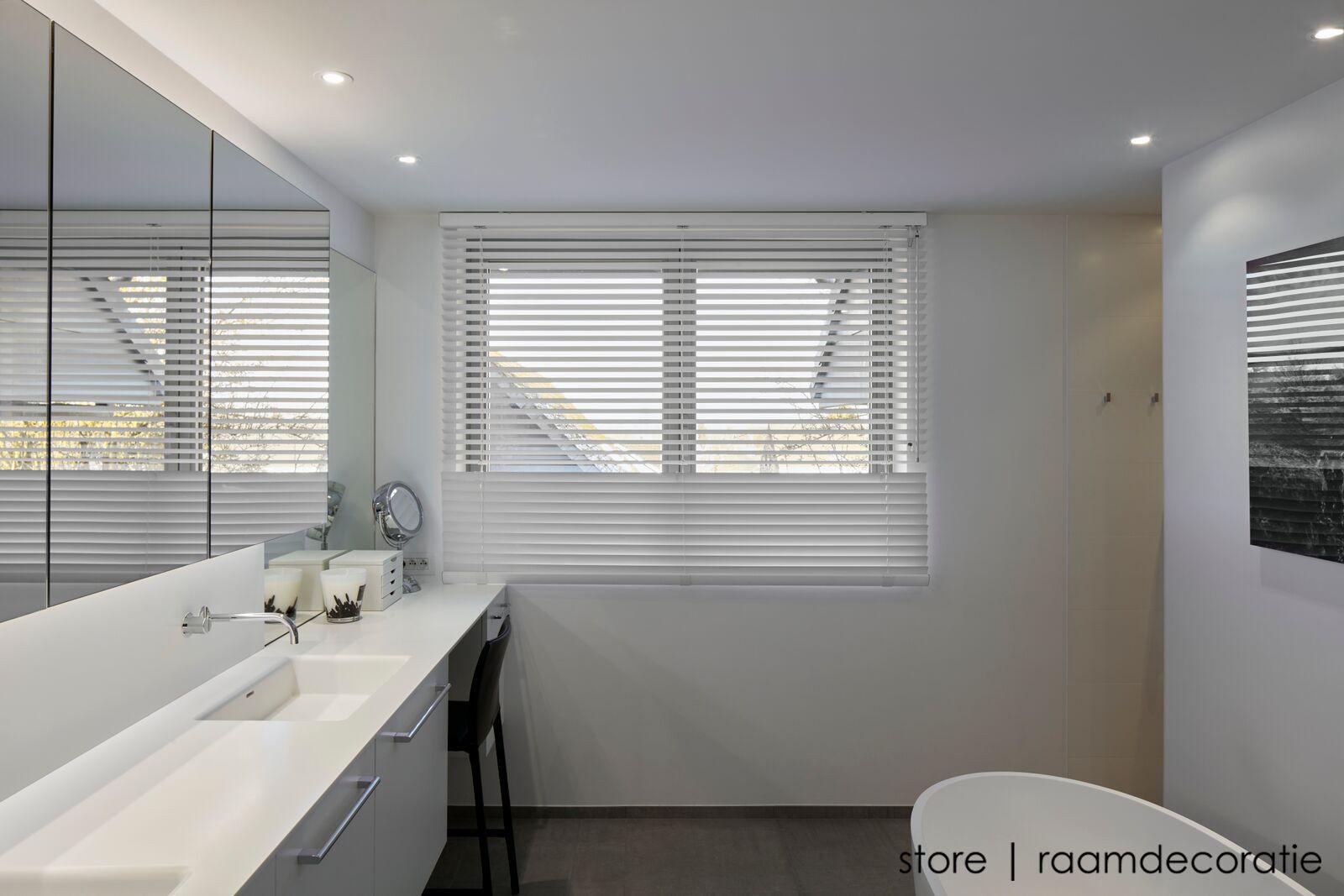 Badkamer Gordijn Rails : Horizontale jaloezieën badkamer lamellen badkamer fresh 39 elegant