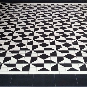 Gallery Of Tile Installations Photos Of Victorian Floor Tiles Tile Installation Geometric Tile Design Geometric Tiles
