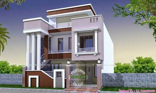 Image result for duplex house plans india 1200 sq ft ...