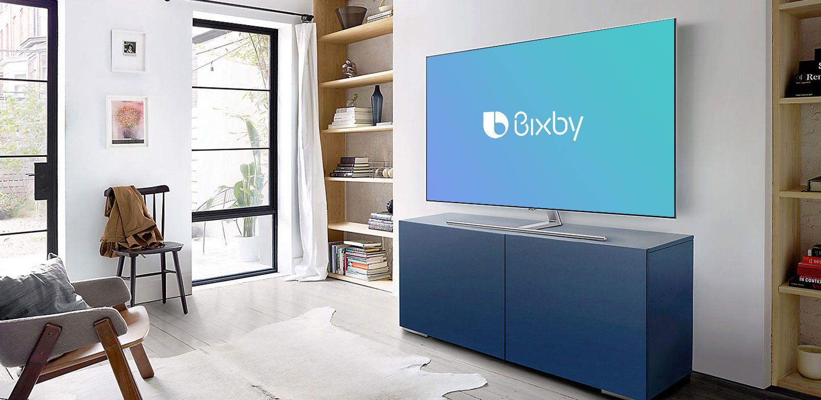 What is Bixby in Samsung QLED Smart TVs? Tvs, Smart tv