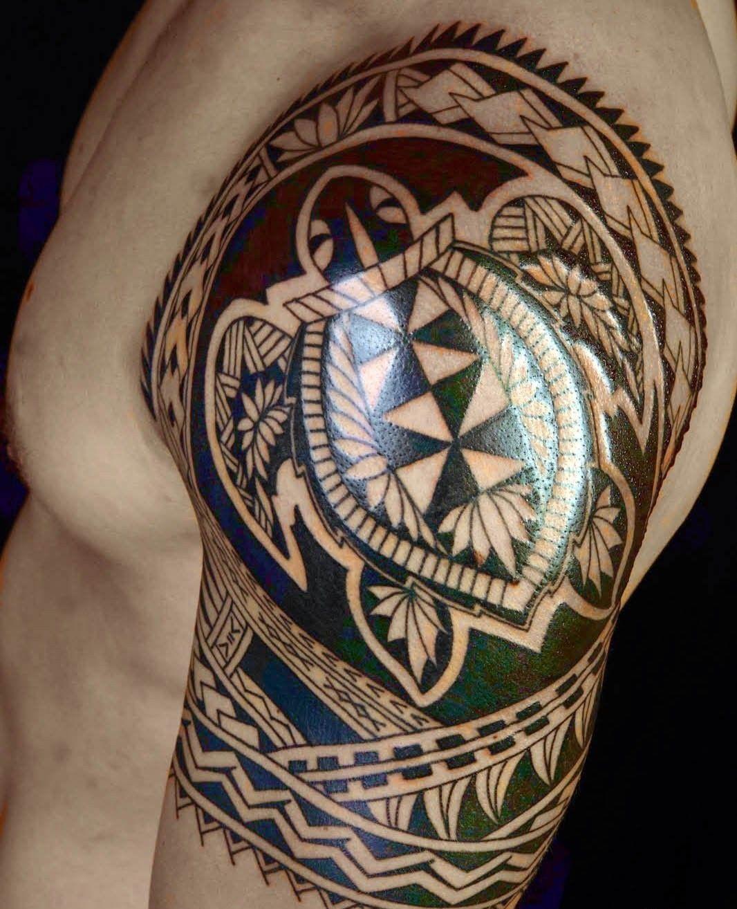 schildkröte als männer tattoo #tattoossamoandesigns | Samoan ... - Männer Tattoo Arm