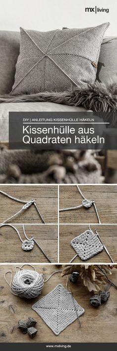 DIY   Kissenhülle häkeln - mxliving