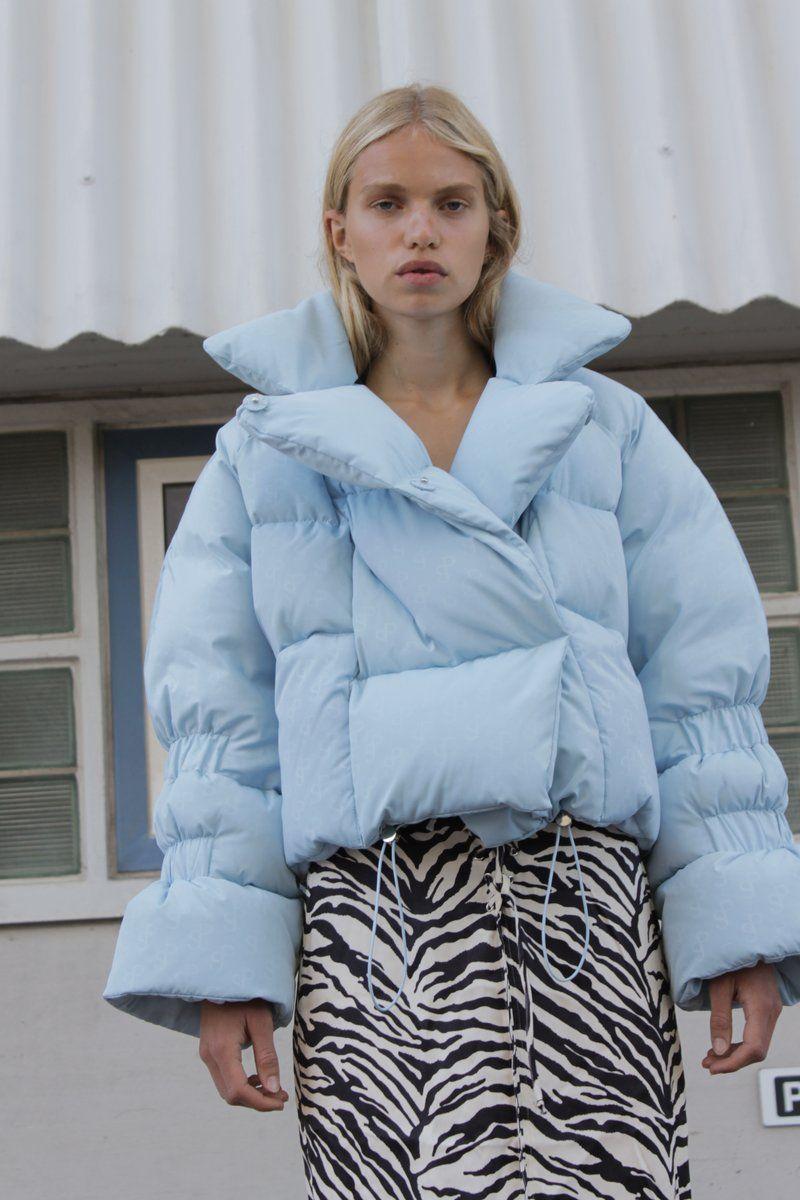 Saks Potts Star Jacket Sky Blue Saks Potts Fashion Jackets [ 1200 x 800 Pixel ]