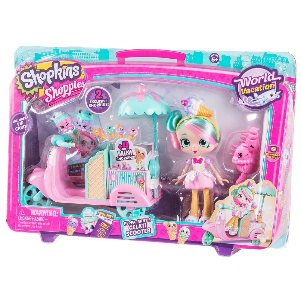 Shopkins Shoppies Season 3 World Vacation Peppa Mint S