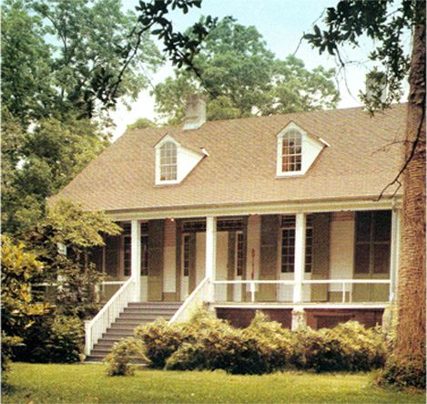 raised Acadian style | Cottage house plans, Acadian style ... on
