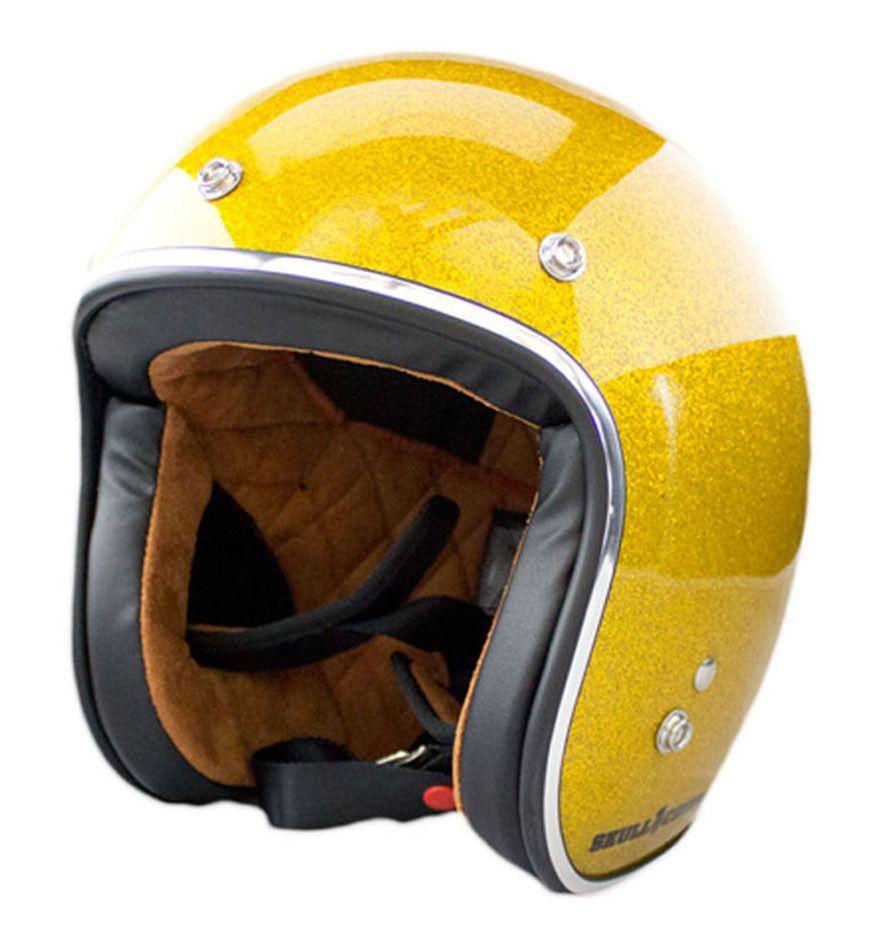 3 4 Open Face Vintage Helmet Sunflake Vintage Helmet Motorcycle Helmets Motorcycle Helmets Vintage