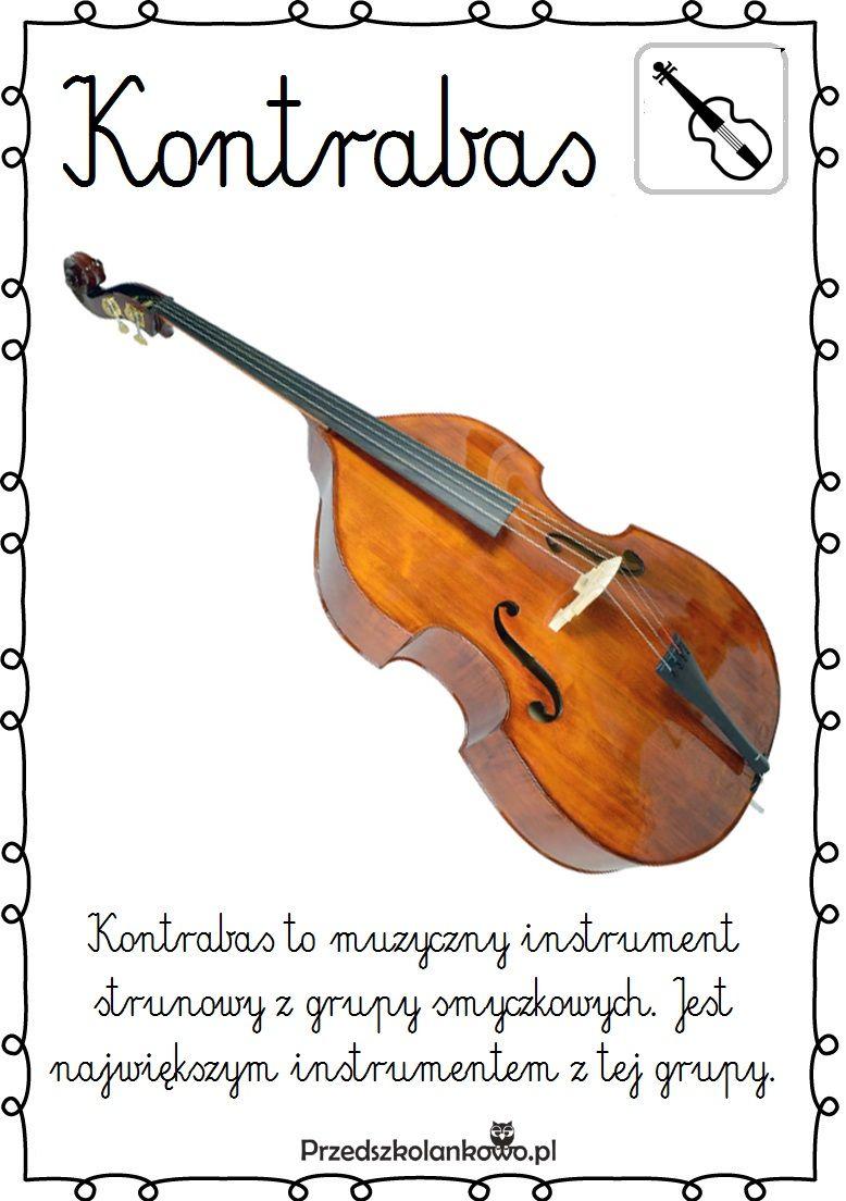Instrumenty Muzyczne Plansze Zestaw 2 Przedszkolankowo Education Kids Learning School
