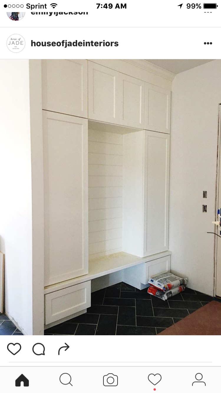 Entry cabinetry