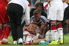 Alemanha goleia em amistoso mas pode perder Reus para a Copa DANIEL ROLAND/AFP