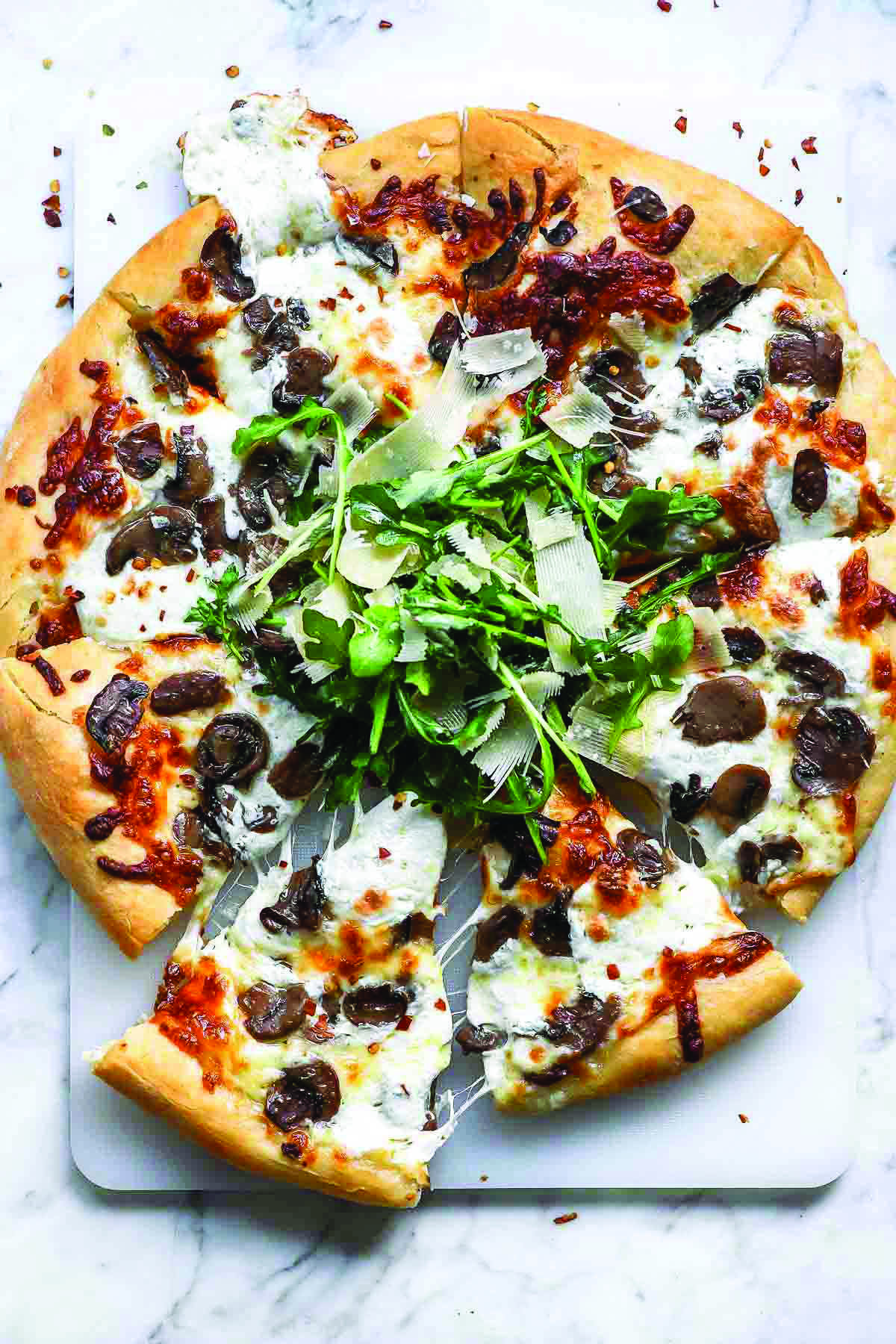 Miracle Pizza Dough Recipe Mushroom Pizza Recipes Pizza Recipes