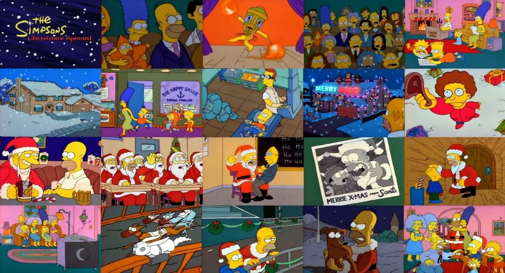 The Simpsons Christmas Special | My Childhood | Pinterest